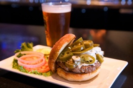 5 Star Burgers: $12 for $20 Worth of Burgers and Drinks for Two People at 5 Star Burgers