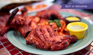 Kerala Kitchen: Indian Meal With Poppadoms and Rice from £8 at Kerala Kitchen (Up to 66% Off)