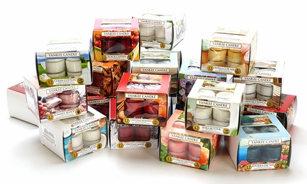 Yankee Candle Set of 60 Assorted Tealights