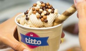Titto Gelaterie (Emilia): 1 o 2 kg di gelato a scelta da Titto Gelaterie (sconto fino a 54%)