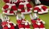 15 lots Portes-couverts Père Noël