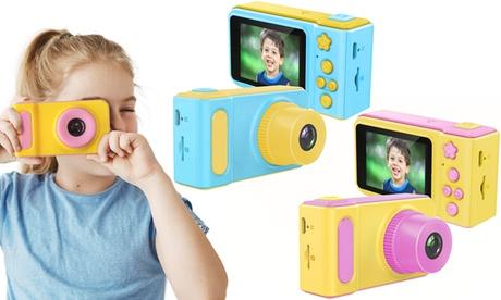 Cámara digital para niños disponible en 2 colores y con tarjeta Micro SD de 32GB opcional