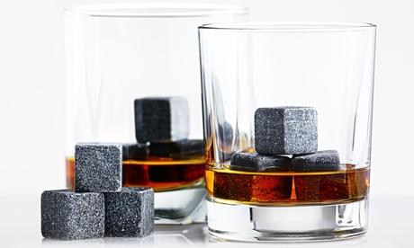 1 o 2 packs de 6 piedras para enfriar el Whiskey