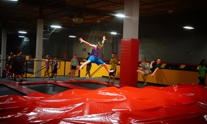 90 Minutes Of Jump Time For Two Or Four At Stratosphere Trampoline Park (up To 42% Off)