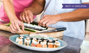 Samba Steak & Sushi House: $62 for a Sushi-Making Class for Two at Samba Steak & Sushi House ($140 Value)