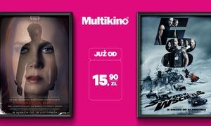 Multikino: Od 15,90 zł: bilet na dowolny film 2D w kinach sieci Multikino – 7 dni w tygodniu (do -49%)