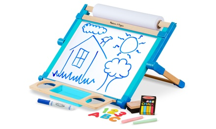 Melissa & Doug Deluxe Double-Sided Tabletop Easel