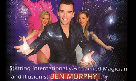 From $55 For A Two-Course Meal And A Magic & Illusion Experience With Ben Murphy at Witches in Britches (From $89 Value)