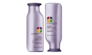 Pureology Hydrate, Strength Cure, or Pure Volume Shampoo & Conditioner at Pureology Hydrate, Strength Cure, or Pure Volume Shampoo and Conditioner (8.5 or 33.8 Fl. Oz.), plus 6.0% Cash Back from Ebates.