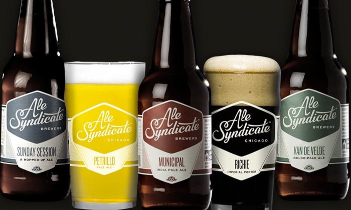Ale Syndicate - IN-STORE PICKUP: $20 for a Brewery-Tour Package with In-Store Pickup at Ale Syndicate ($63.99 Value)