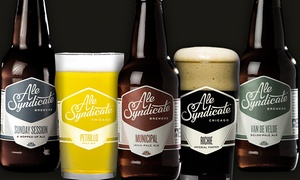 Ale Syndicate: $20 for a Brewery-Tour Package with In-Store Pickup at Ale Syndicate ($63.99 Value)