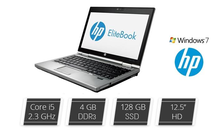 """בסטרייד בע""""מ - Merchandising (IL): מחשב נייד HP עם מסך """"12.5, מעבד i5, זיכרון 4/8GB, דיסק קשיח 128GB SSD ומע' הפעלה win7, כולל 2 שנות אחריות!"""