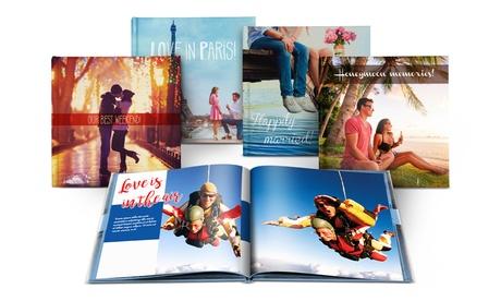 1 o 2 fotolibros de tapa dura formato A5 o A4 paisaje con 20, 40, 60 o 100 páginas desde 1,99 € con Printer Pix