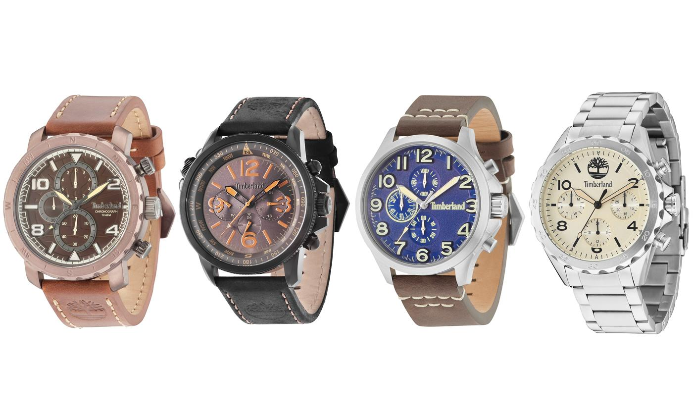 Timberland Men's Watch Collection With Free Delivery (£45.99)