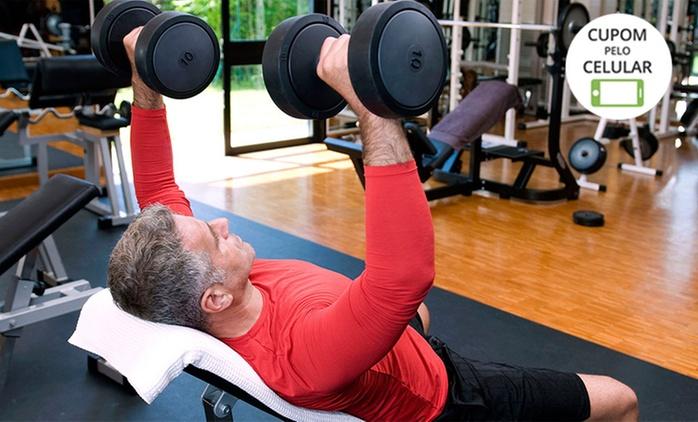 Academia Fisio Fit – Taguatinga: 1 ou 3 meses de musculação + matrícula