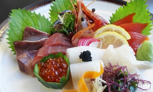 Japanese Food at Sushi Sakura Japan (Up to 55% Off). Three Options Available.