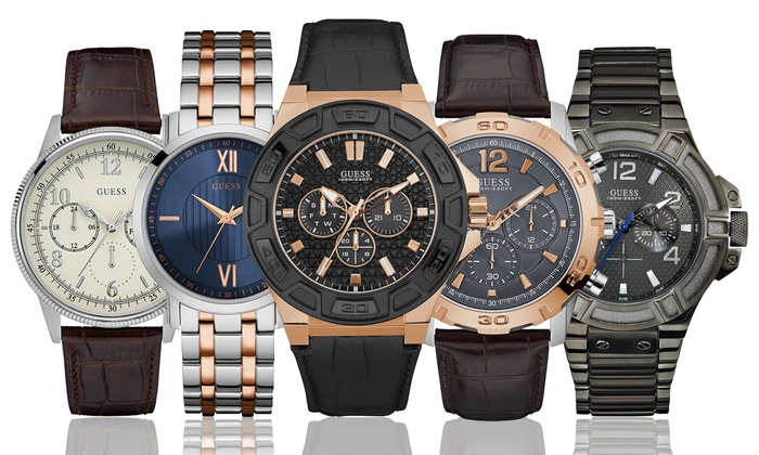 80d4902806 Montres Guess Homme | Groupon Shopping