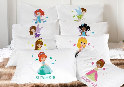 Personalized Princess, Fairy & Super Hero Character Pillowcases from Monogram Online (79% Off)