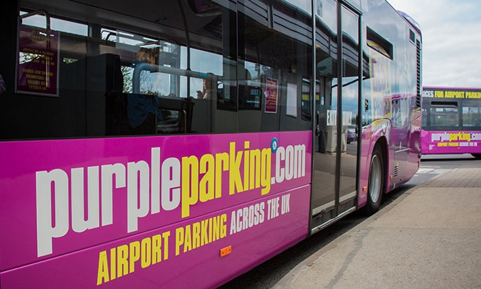 Purple Parking - Multiple Locations: Up to 35% Off Airport Parking with No Additional Booking Fees from Purple Parking, Multiple Locations