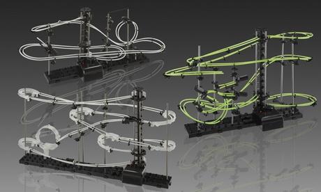 Montagne russe componibili disponibili in 3 modelli