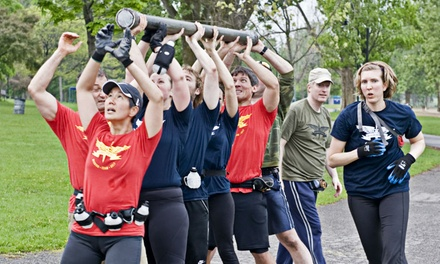 12 Intro Classes or 12 or 20 Boot Camp Classes at Ottawa Fitness Boot Camp-Soldiers of Fitness (Up to 74% Off)