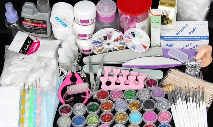Acrylic Powder Nail Art Kit Groupon