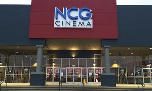 30% Off Movie Experience for 2 People plus 3 Concession Items at NCG Cinemas, plus 9.0% Cash Back from Ebates.