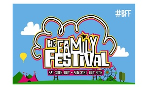 Big Family Festival: Tickets with Optional Camping and Parking Passes to Big Family Festival, Dunton Hall, 30 - 31 July (Up to 41% Off)