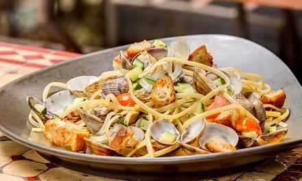 Entrée, plat et dessert au choix à la carte pour 2 personnes à 49,90 € au restaurant Due by Maurizio