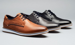 Tony's Casuals Aaron Men's Plain-Toe Derby Shoes