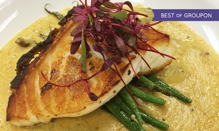 Prix Fixe Dinner for 2 or 4 with Appetizers, Entrees, and Dessert or Wine at Faces Mears Park (Up to 45% Off)
