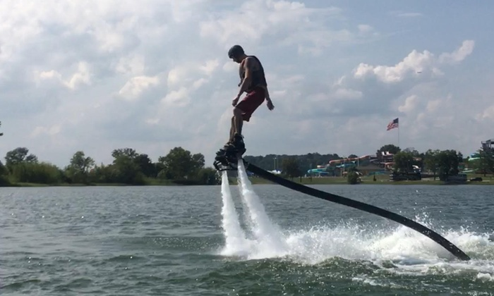 Nashville Flyboard - Percy Priest Lake: One-Hour Flyboard Rental for Two at Nashville Flyboard (40% Off)