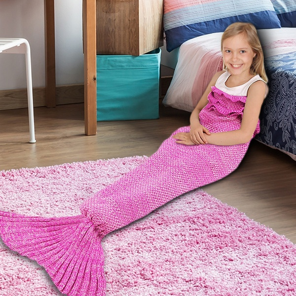 Mermaid Tail Blanket Groupon