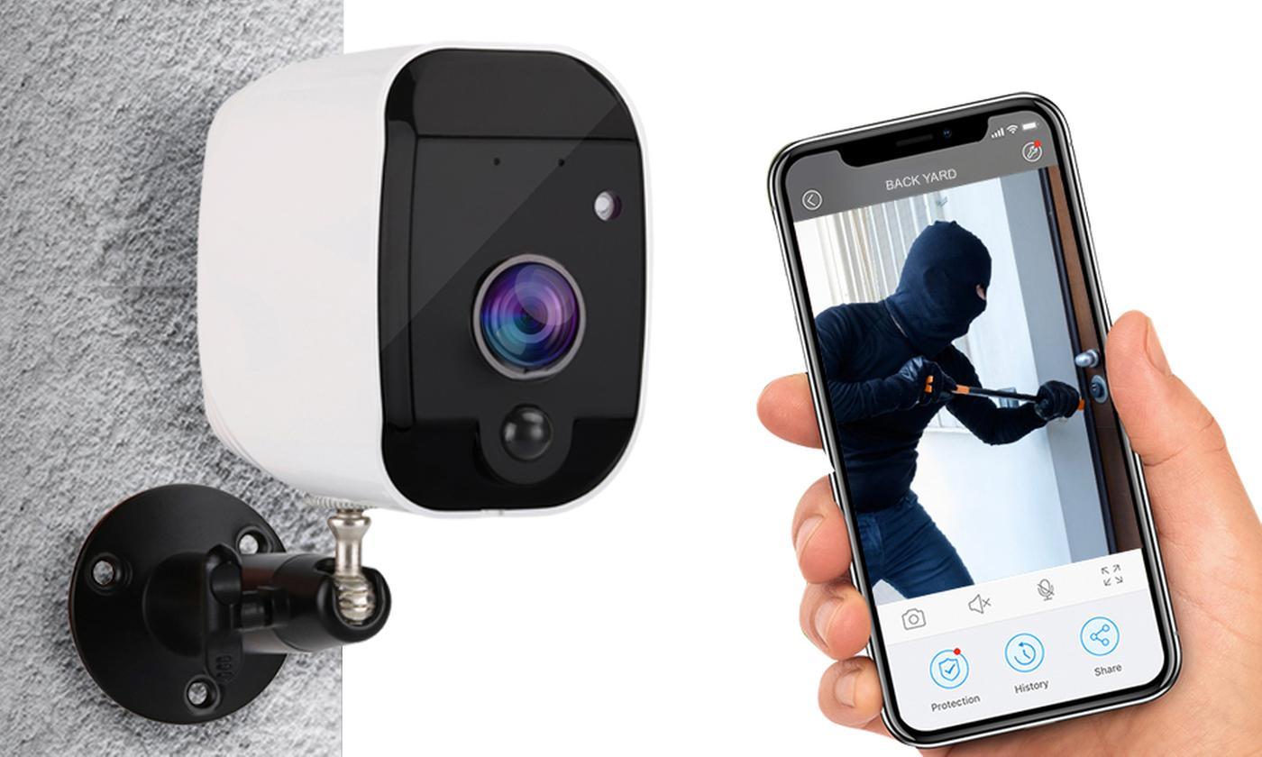 Aquarius Smart Outdoor CCTV Camera