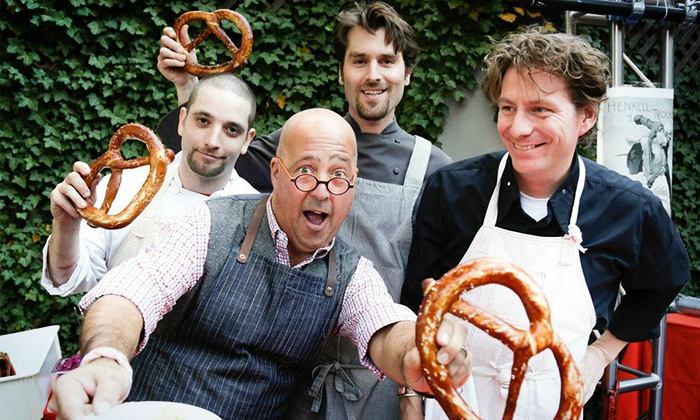 New York City Wine & Food Festival - The Garden at Studio Square NYC: $99 for Entry to Oktoberfest sponsored by The Village Voice, presented by Jägermeister, and hosted by Andrew Zimmern on Sunday, October 19. All Food and Drink Included.