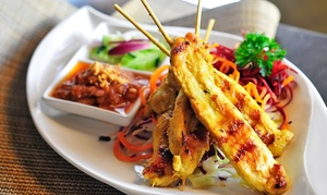 3 Seasons Thai Bistro: Thai Dinner Cuisine at 3 Seasons Thai Bistro (42% Off). Two Options Available.