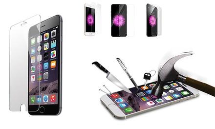 1 o 2 protectores de pantalla de cristal templado para iPhone