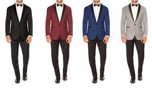 Jack Luxton Men's Slim-Fit Shawl Lapel Tuxedos (2-Piece)