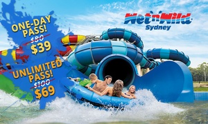 Wet'n'Wild Sydney: Wet'n'Wild Sydney: One-Day ($39) or Unlimited Pass ($69) (Up to $100 Value)