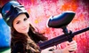 Paintball International - Multiple Locations: All-Day Paintball Package with Equipment Rental for 6 or 12 at Paintball International (Up to 85% Off)