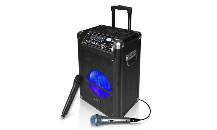 the official technical pro bluetooth tailgate speaker groupon. Black Bedroom Furniture Sets. Home Design Ideas