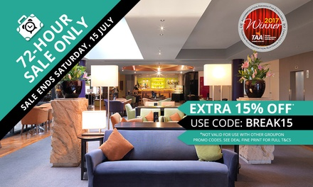 Melbourne: 1 or 3 Nights for Up to 4 with Wine, Late CheckOut and Optional Breakfast at Amora Hotel Riverwalk Melbourne