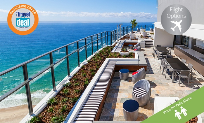 Surfers Paradise, Gold Coast: From $499 Per Person for 5 Nights with Return Flights and Spa Credit at Rhapsody Resort