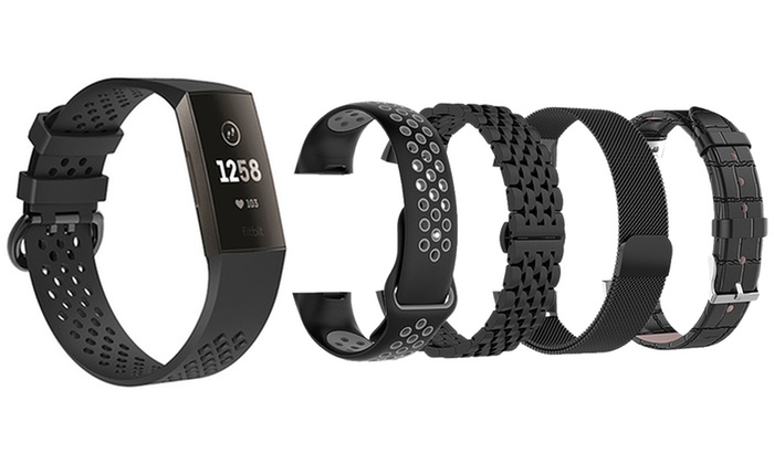 Up To 51% Off Fitbit Charge 3 Replacement Band   Groupon