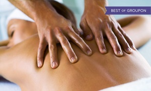 True Grace Spa & Nail: 60-Minute Massage with Option for Pedicure or Facial and Reflexology at True Grace Spa & Nail (Up to 75% Off)
