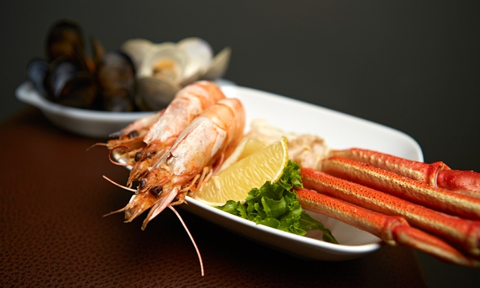 Vegas Seafood Buffet - Hollywood - Hollywood: Buffet Meal for Two or Four at Vegas Seafood Buffet - Hollywood (Up to 52% Off)