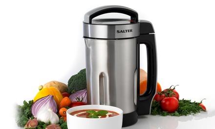 Salter EK2411 1.1L or  EK2613 Go Healthy 1.6L Soup Maker