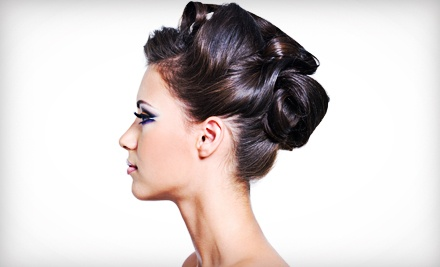 Cut with Condition or Color, or Bride's Trial Hair and Makeup with Optional Day-of Styling at Salon 121 (Up to 63% Off)