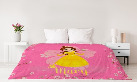 Premium Plush Custom Princess Blankets, Extra Soft from Printerpix (Up to 93% Off)