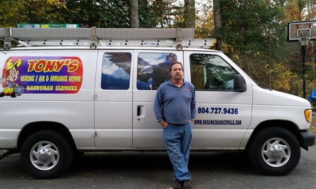 AC or Furnace Tune-Up or Appliance Diagnosis from Tonys Heating & Air, Appliance Repair and Handyman (47% Off) photo